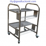 Panasonic chip mounter CM402 feeder storage cart